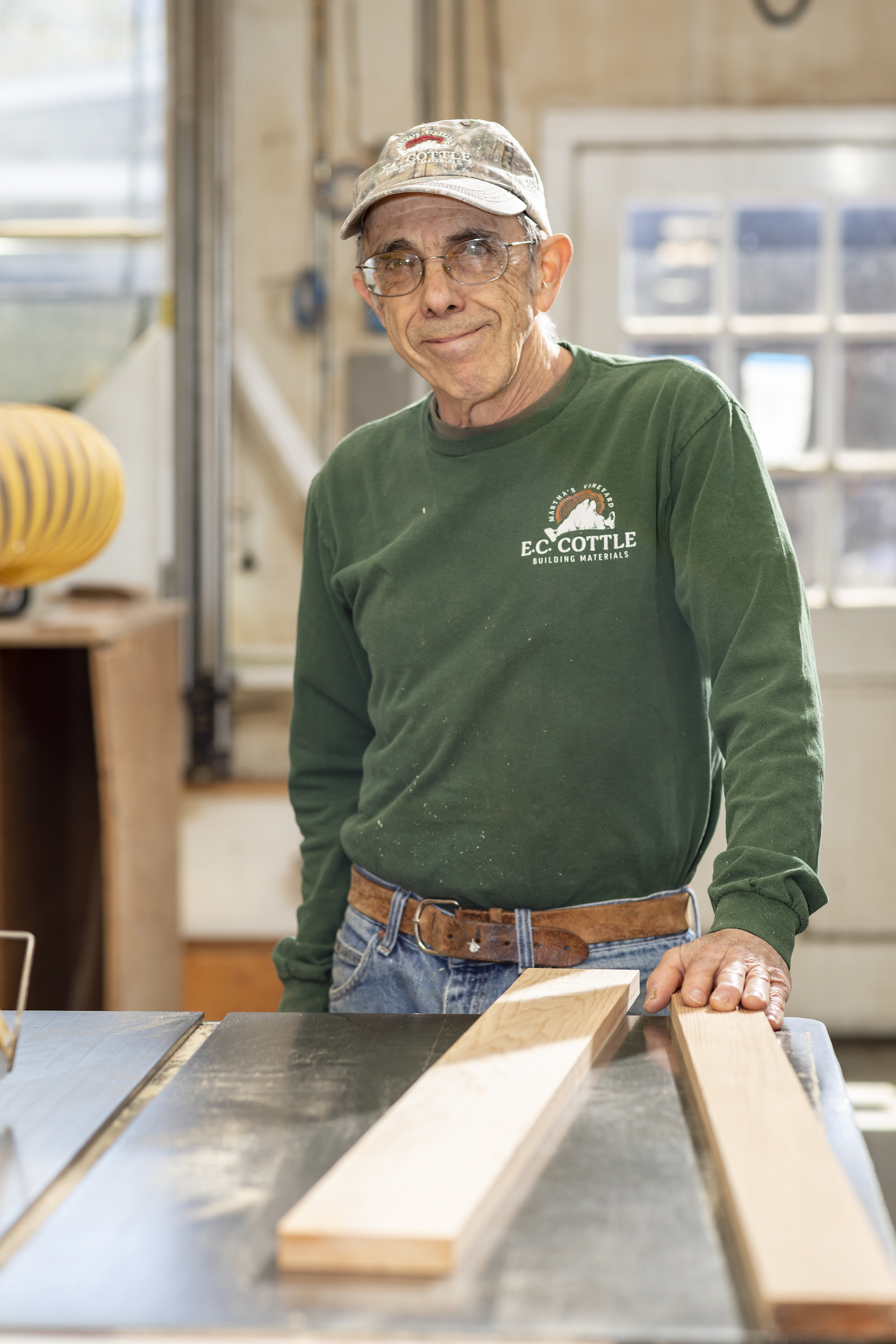 Carl Lopes Custom Woodworker  508-693-1385 , ext. 116