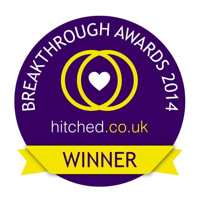 Voted top 10 new wedding photographers in the UK by Hitched (2014)… - …and I'm better now! ;-)