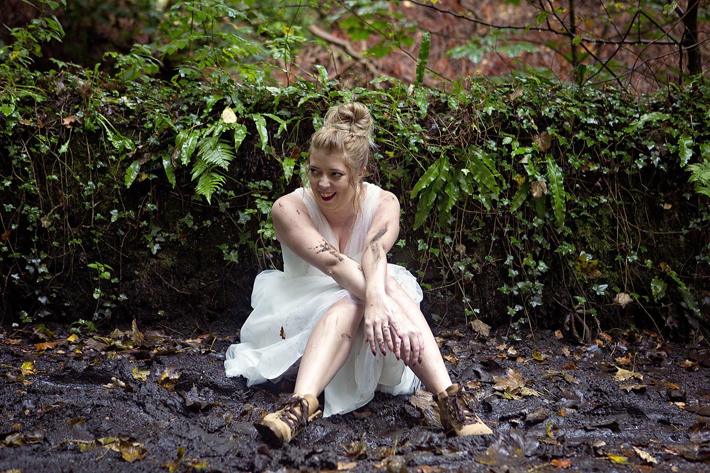 Muddy trash the dress