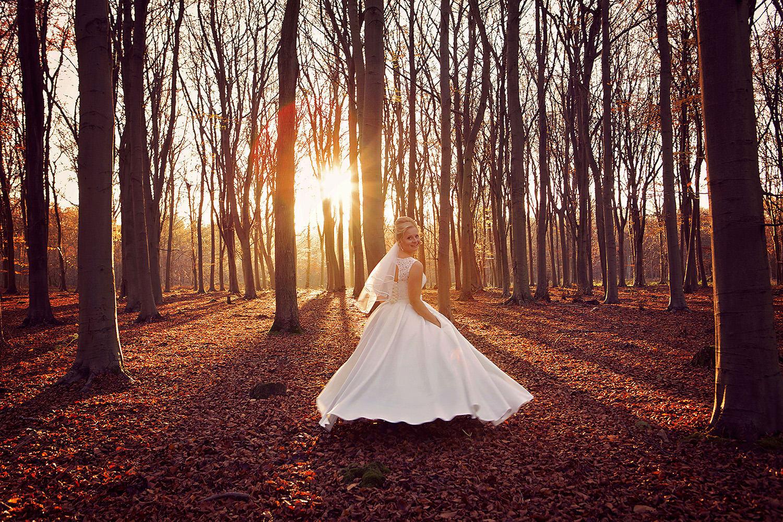 Autumn wedding Cambridgeshire