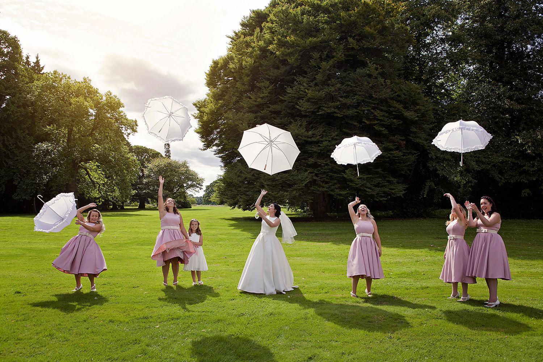 Crazy wedding photography ideas