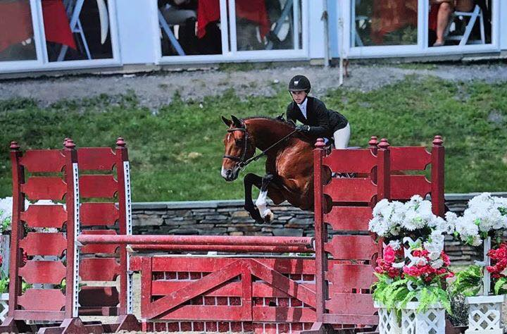 Aljano JR and Madelyn Lowe —  Reserve Champion at U.S. Junior Hunter Championships, USEF HOTY 3rd Place