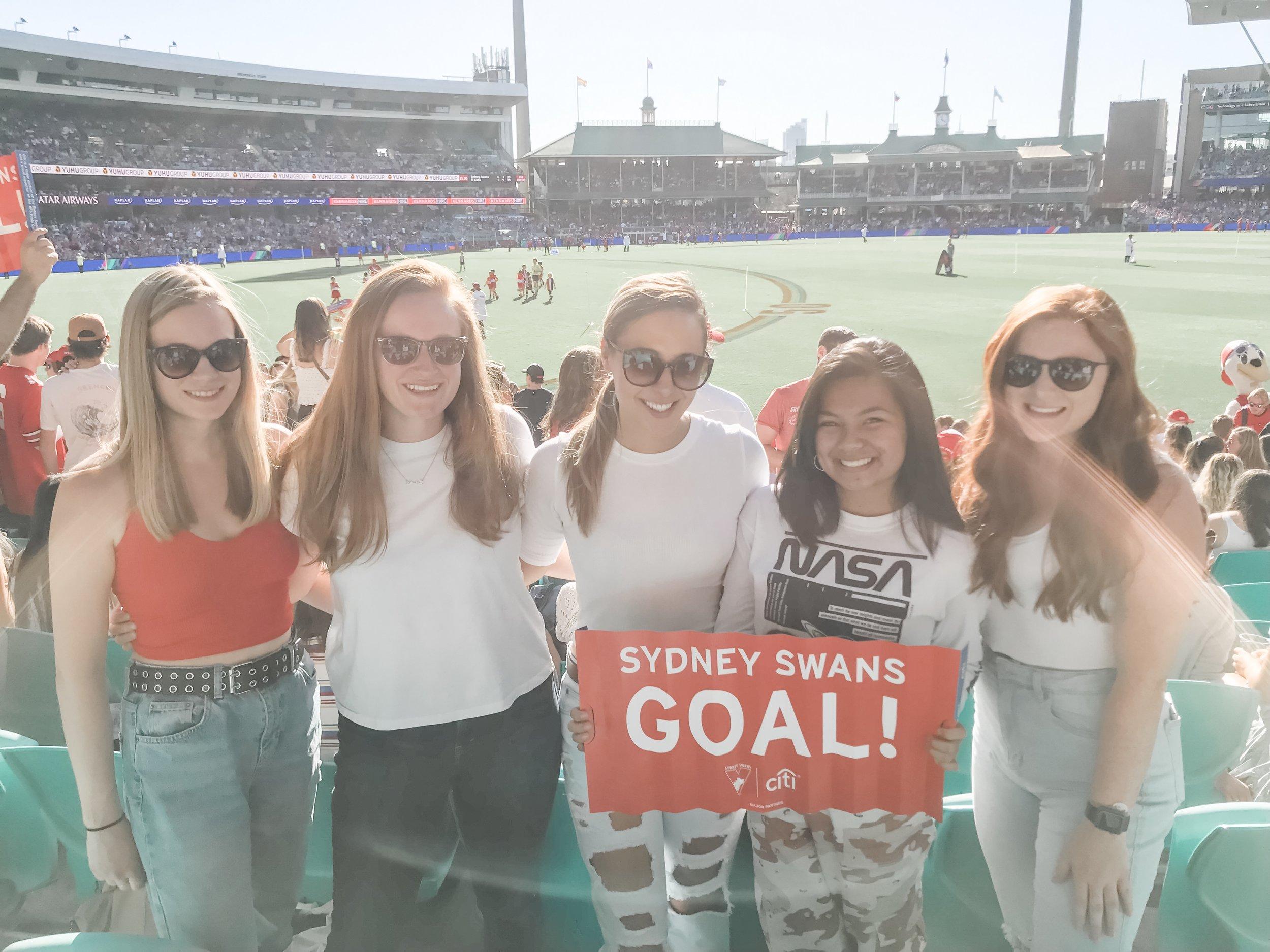 Sydney Swans won!