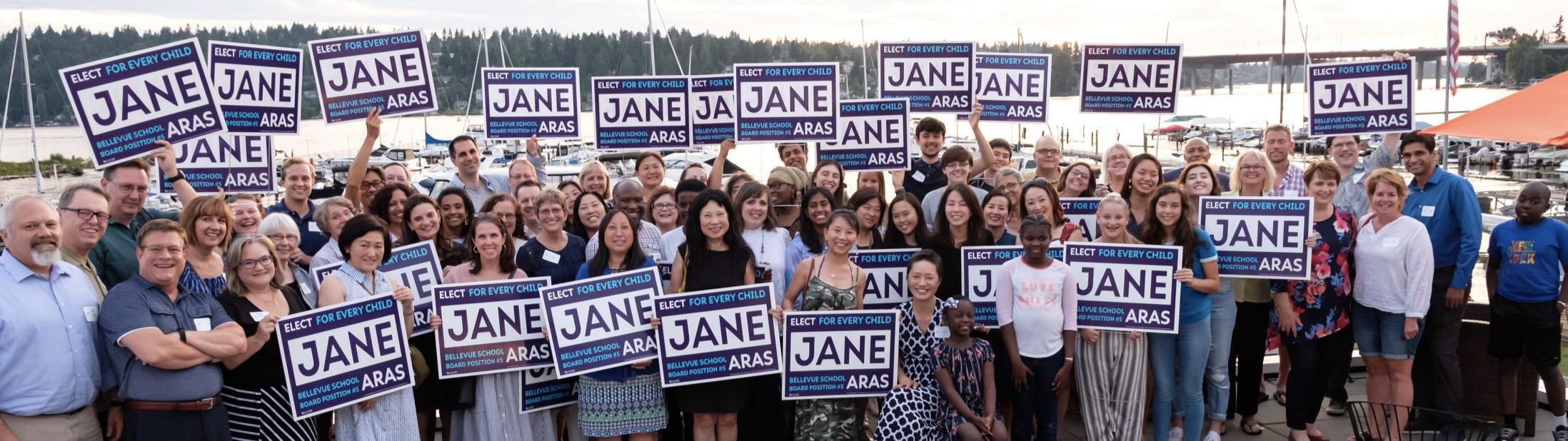 Jane's campaign kickoff