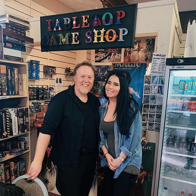 🇬🇧Chester in the UK has a gem of its own, @tabletopgameshopchester!⠀ •⠀ Honestly, after a quick google search to find the local game spot, I was expecting to stroll into a standard game store. I was wrong! What I found was much more than that! This place oozed character and community. It's not rows upon rows of games on shelves, but primarily tables for playing games, complemented by a wicked game library. They do sell games, but it is a small selection of carefully selected, quality games to suit a variety of player types.👏🏼⠀ •⠀ Again, it's questionable if my timing was right or wrong🤷🏻♀️. I missed seeing the place packed with its regulars. However, because they weren't swamped at the time, I got to spend time chatting with one of the owners Richard. We had a great time chatting and geeking out about all things game 😄😋⠀ •⠀ Thanks for the warm welcome @tabletopgameshopchester! Maybe I'll turn up on time for game night one day ✈️😋🇬🇧⠀ - Nicola 👋🏼⠀ .⠀ .⠀ .⠀ .⠀ .⠀ ⠀ ⠀ #gameshop #gamecafe #playspace #tabletopgameshop #boardgames #tabletopgamer #boardgamers #gamesnight #fungames #boardgamegroup #boardgamesofinstagram #boardgaming #boardgameaddict #tabletopgame⠀ #tabletopgames #bgg #boardgamegeek