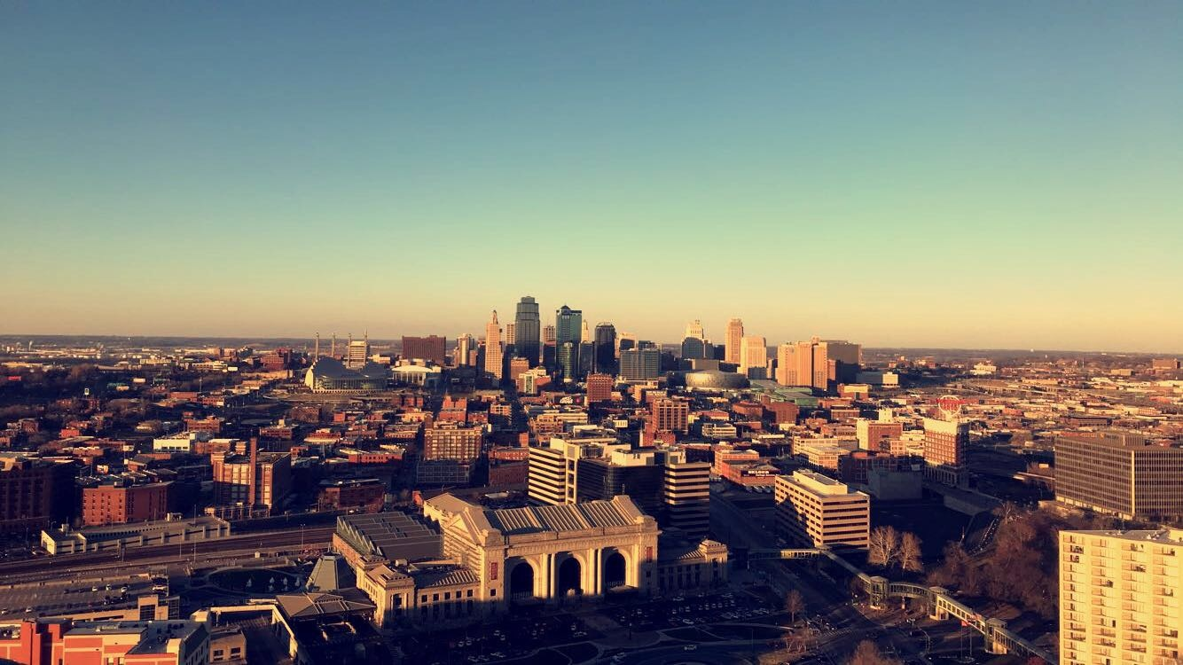 View from KC Liberty Memorial. Photo by Maleah Marquez