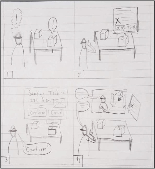 """Unsolvable"" Storyboard"