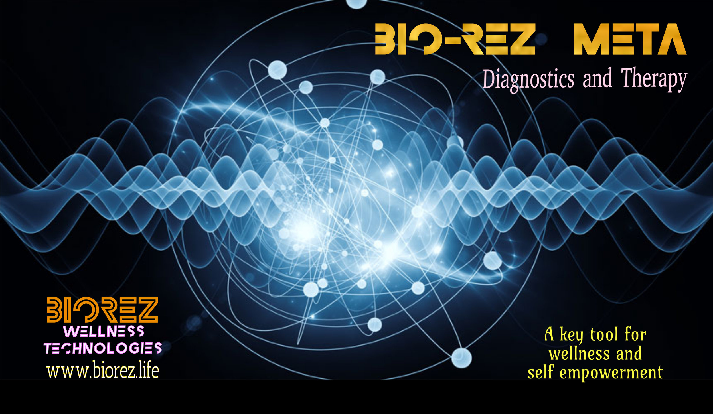 BIOREZ META - An accurate non-invasive diagnostic device proven to be a key tool for wellness and self empowerment.www.biorez.life