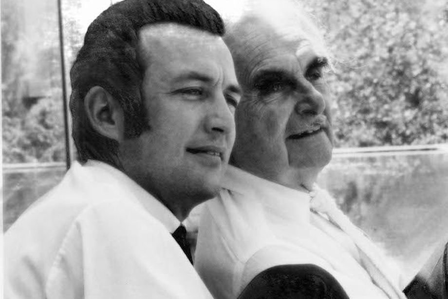Dion and Richard Neutra. Photo credit Dion Neutra.