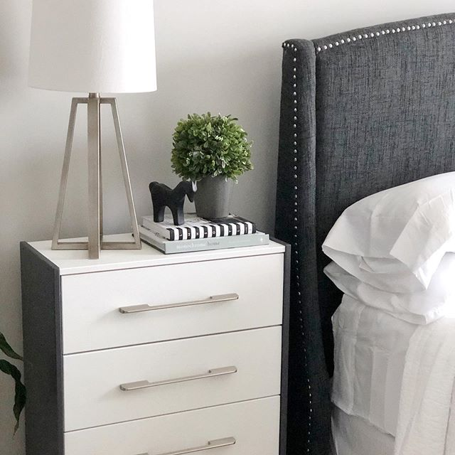 Hey guys! Do you love furniture makeovers like I do? 🙋🏽‍♀️ I recently did a makeover this past weekend to my IKEA Rast Nightstand. I paid $35 for it. Love the price but not the look. So, I decided to make it look modern. Swipe to the right to see what the nightstand looked like before. Click the link in my bio to see the featured video of me doing the makeover in action. . . . . . . . . . . . . . . . . . . . . #homeaccessories  #diyhomedecor #diydecorideas #diytutorial #diyproject #diyhomeprojects #diyhomedecor #furnituremakeover #home #decor #interiordecorating  #diynightatand #ikearast @ikeausa #homedecor  #interiorstyling #decorating #decorationideas