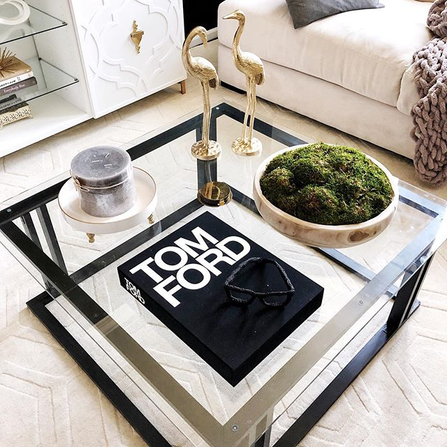 Check out my coffee table decor! It's giving me a Restoration Hardware vibe. Well, that's the vibe I'm striving towards lol. Honestly, it has not been easy styling my coffee table. For me, I am constantly changing the items on my table to see what works and what doesn't. Does anyone else? 🙋🏽‍♀️ I like it for now. If I decide to change things, I'll definitely let you guys know. . . . . . . . . . . . . . . . . . . . . #homeaccessories  #diyhomedecor #diydecorideas #diytutorial #diyproject #diyhomeprojects #diyhomedecor #coffeetabledecor #home #decor #interiordecorating  #diycoffeetable #homedecor  #interiorstyling #decorating #decorationideas