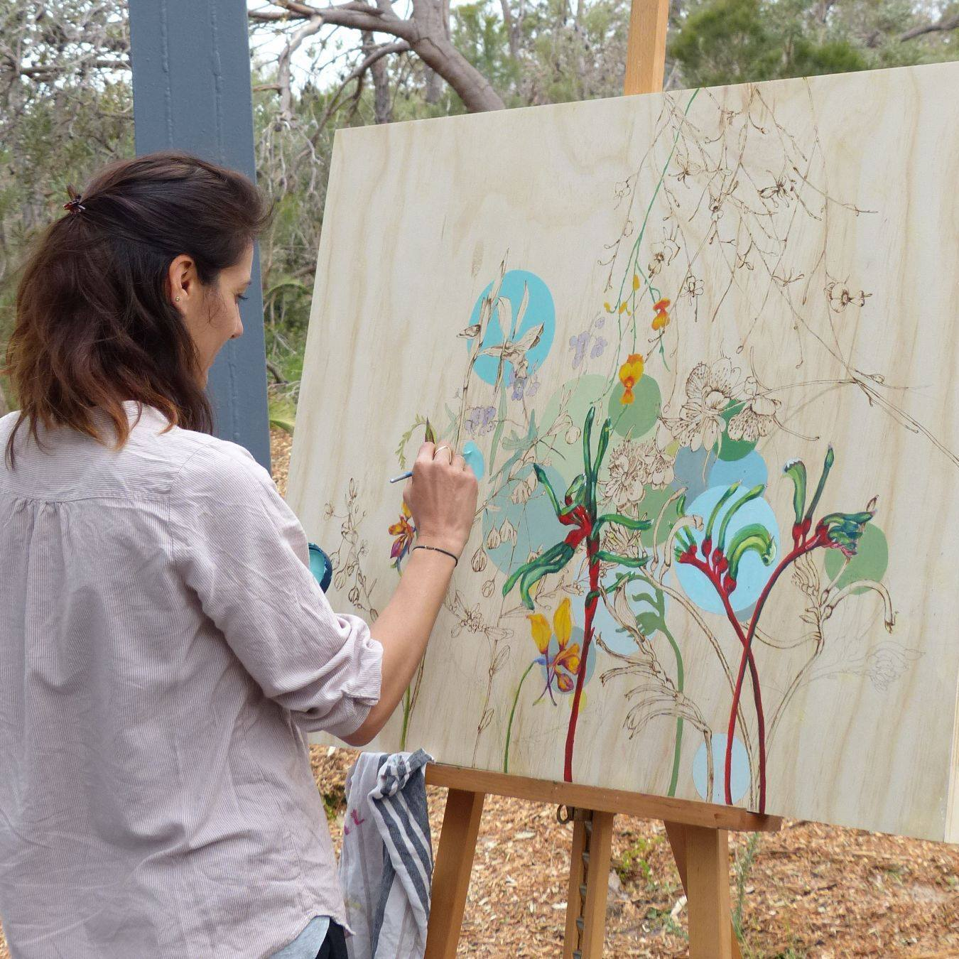 Filled with hope and possibilities: The art of Vanessa Liebenberg - WILDFLOWER SOCIETY OF WESTERN AUSTRALIA | FEBRUARY 2017