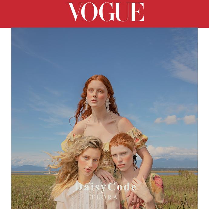 DaisyCode On Vogue Taiwan
