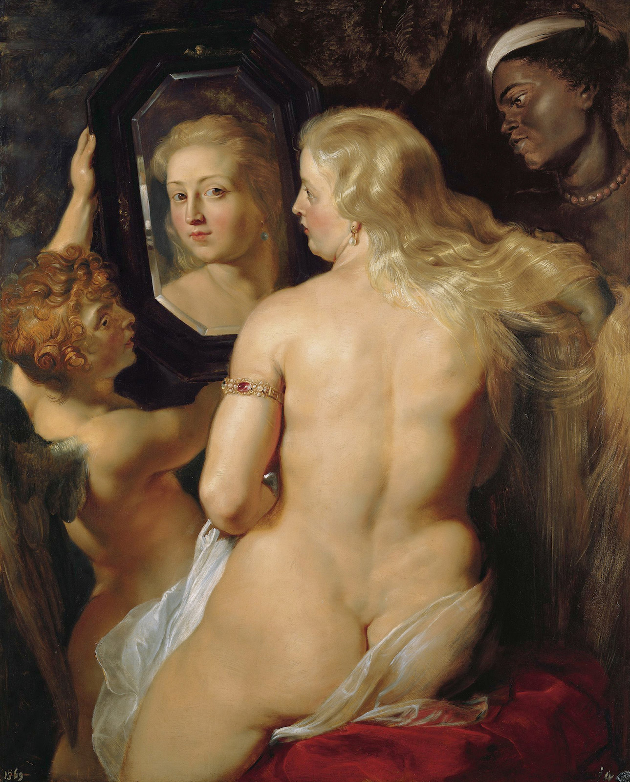 Venus At The Mirror By Peter Paul Rubens