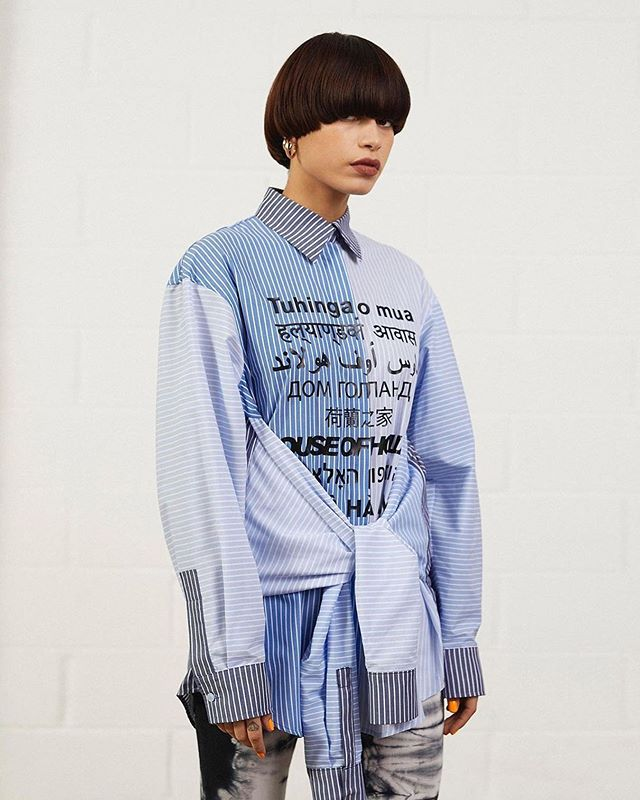 diversity • @houseofholland Get yourself a shirt that can do both...#prefall2019 #daisycodeca #daisycodefashion