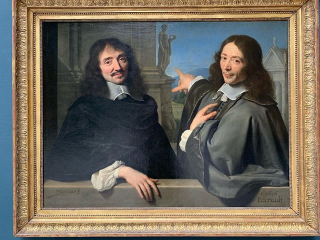 What did he point for ?  #PoraitOfTwoMen #PhilippedeCHAMPAIGNE #1656 #museedulouvre #paris