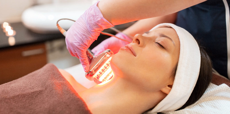 LED Light Therapy Facial - This treatment is a non-invasive treatment that harnesses the the power of LED light frequency to trigger your body's natural cell processes to accelerate rejuvenation and repair the skin. Recommended for a variety of skin conditions, this LED light can penetrate your skin at different depths and cause various reactions in your skin, such as fighting acne- causing bacteria, collagen promotion and wrinkle reduction.MAIN EFFECTS: CALMS AND HEALS ALL SKIN TYPES60 MIN SESSION- $60ADD ON SERVICE to ANY FACIAL: $20