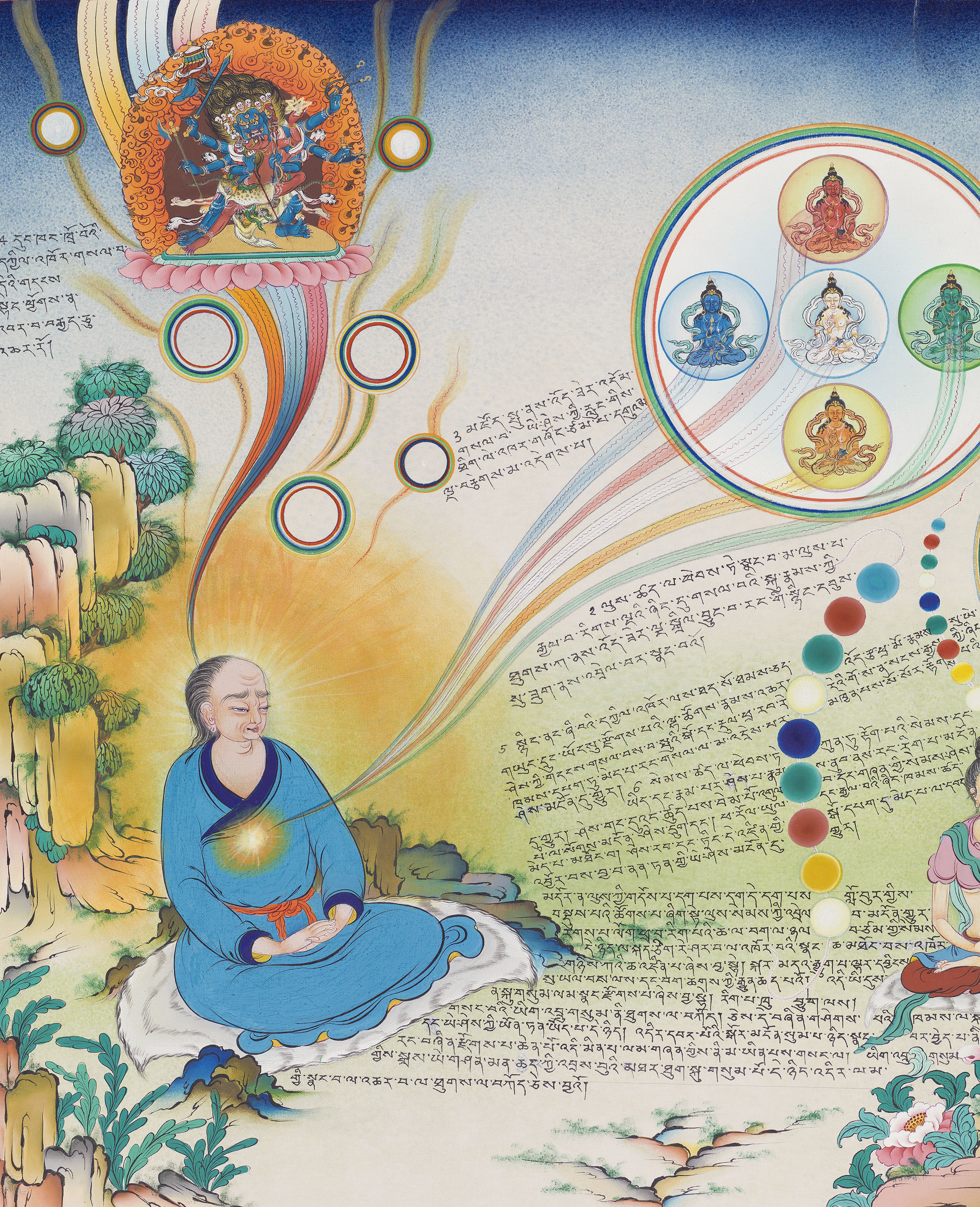 The spontaneous purification of the subtle channels and energies as part of the visionary experience. (p.192)