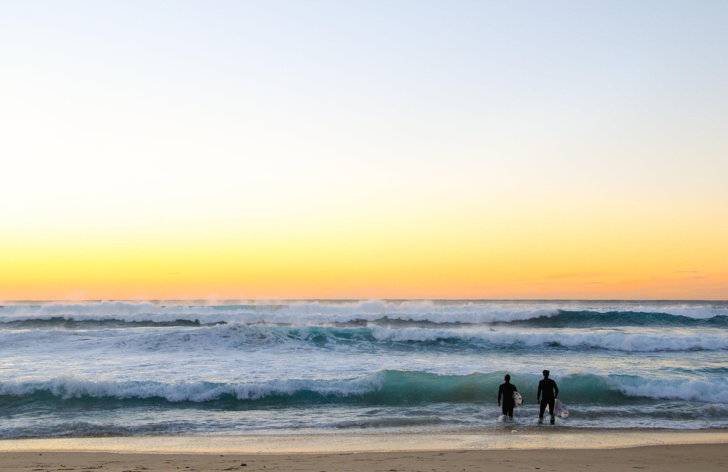Naked Bondi Surfing Bondi