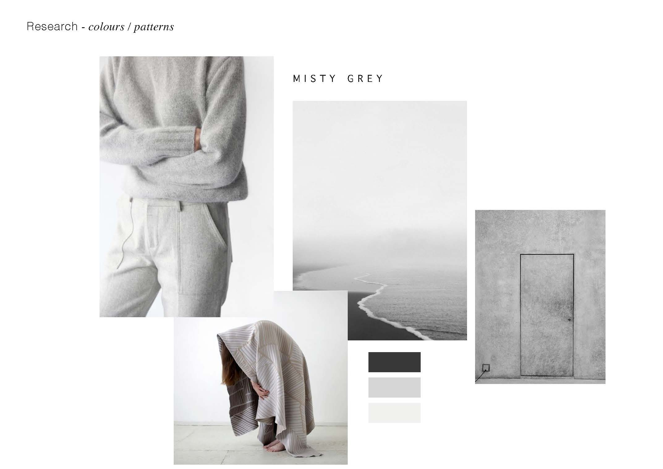 looking at the beauty of greys in natural materials in play with nature and earth and subtle colour shifts