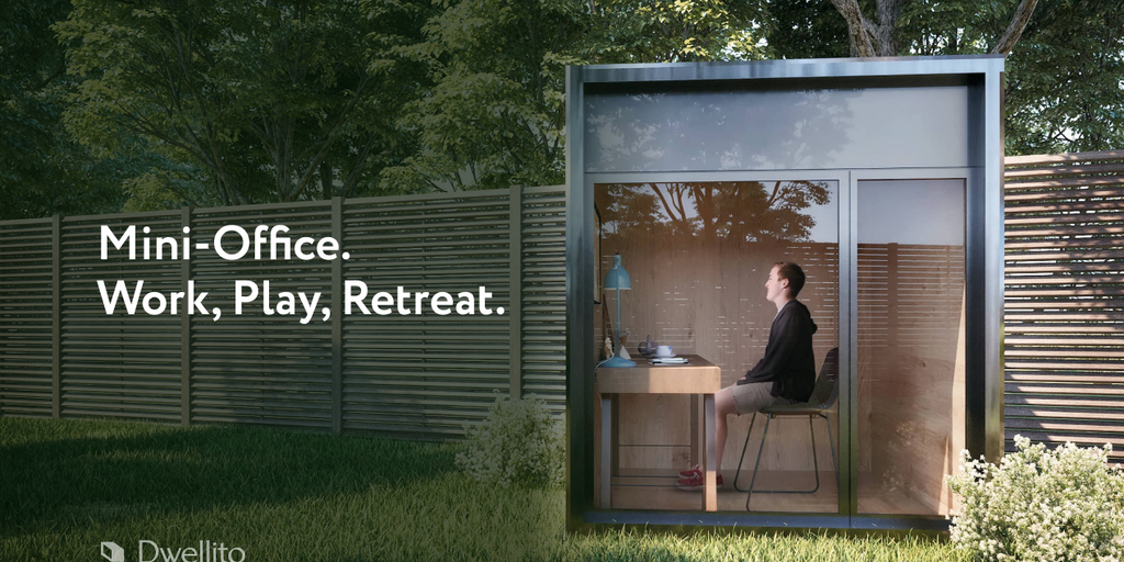 Online Modular Home Seller Dwellito Now Offers Mini Offices Delivered To Your Door Covid Innovations
