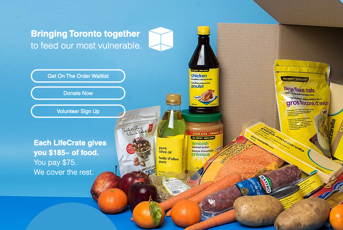 Non Profit Volunteer Based Service Lifecrate Delivers Subsidised Food Crates To Low Income Elderly Covid Innovations