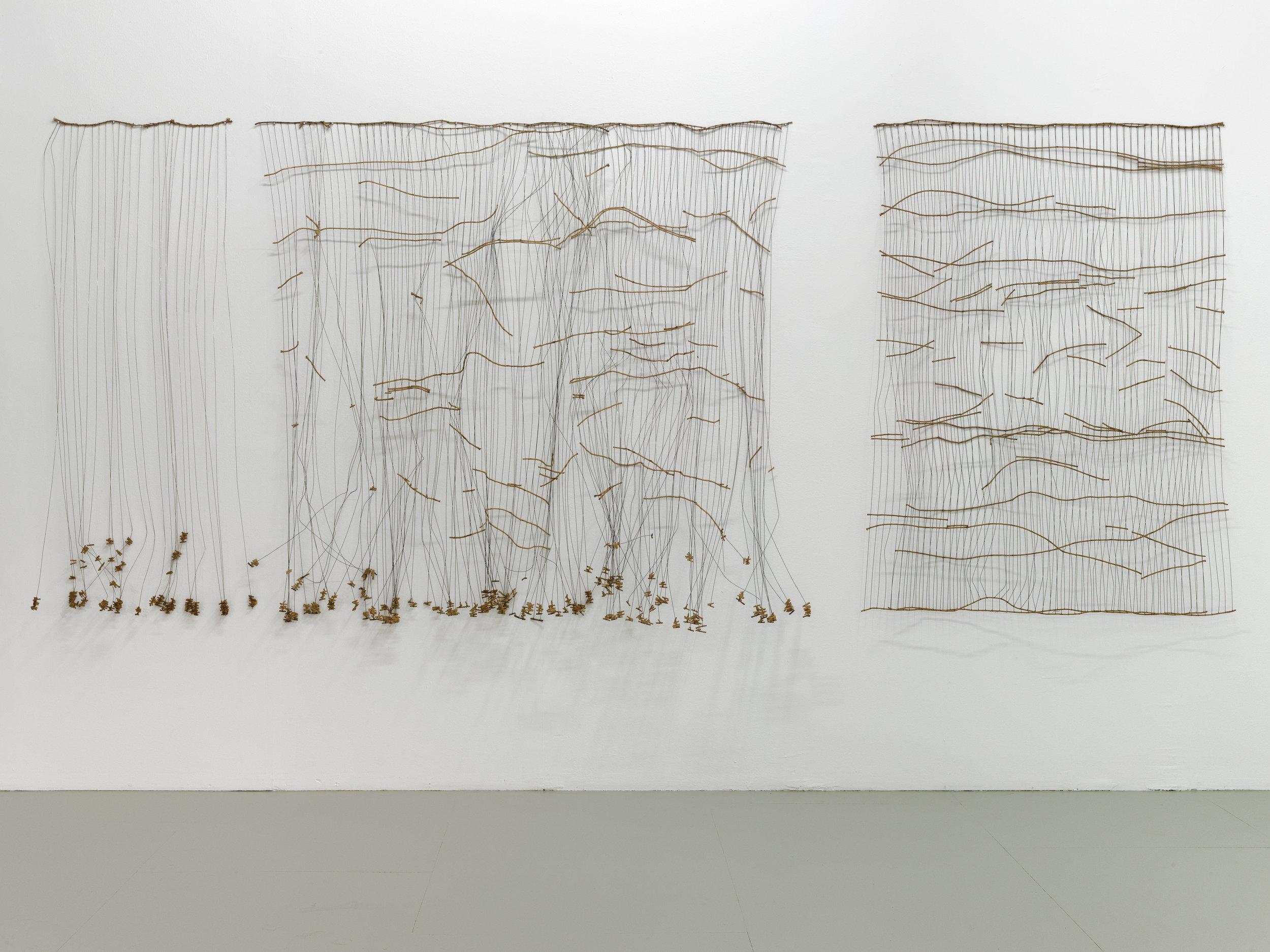 "View of Bronwyn Katz's exhibition ""A silent line, lives here"", Palais de Tokyo."