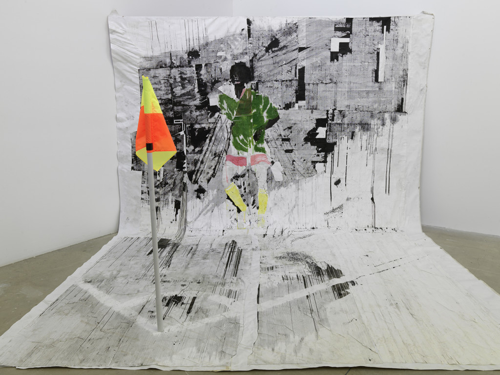 Gareth Nyandoro's exhibition « Stall(s) of fame ». Palais de Tokyo.
