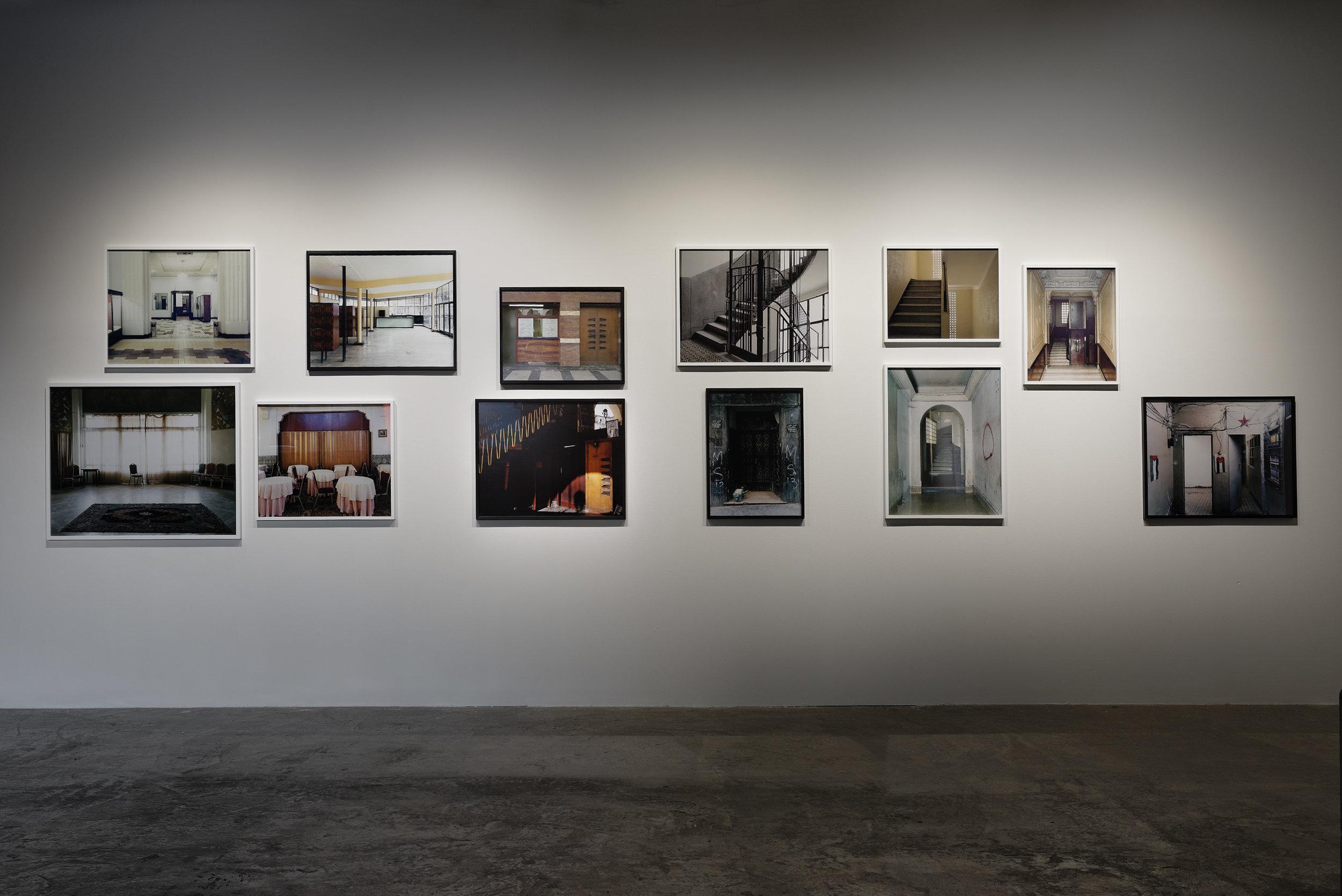 Bouchra Khalili's exhibition. Palais de Tokyo.