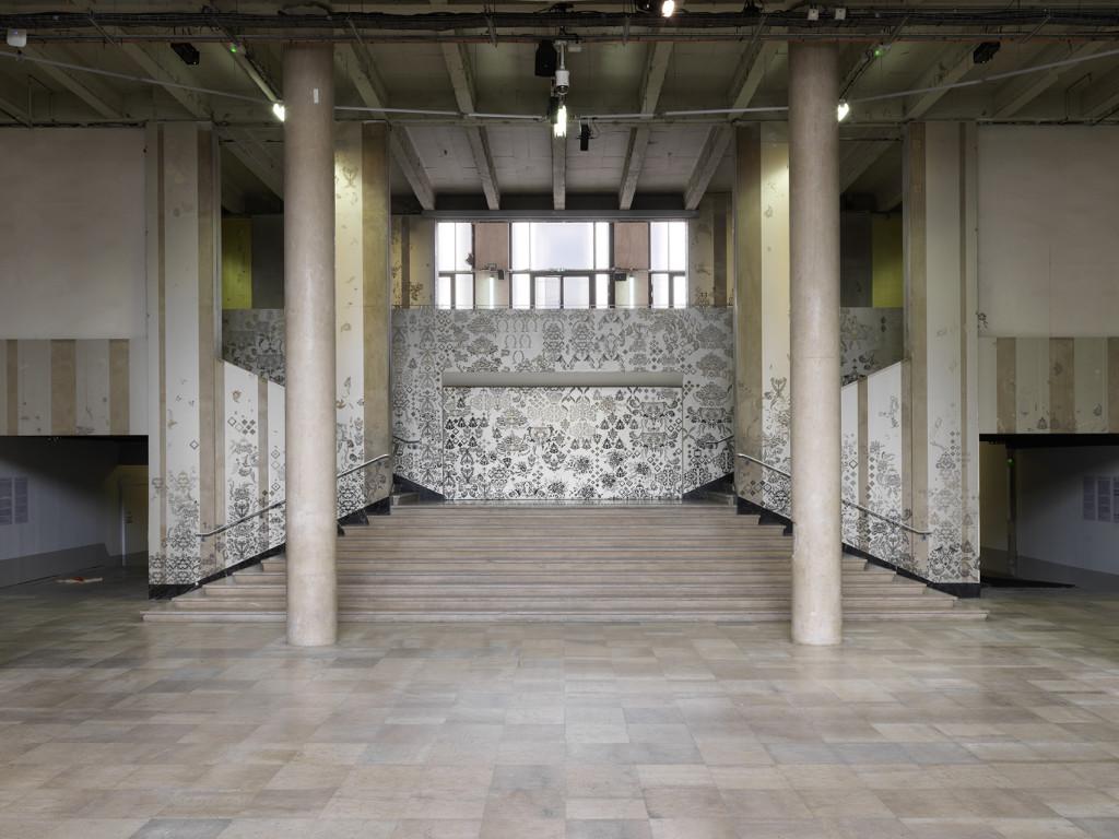 Hannah Bertram's installation. Palais de Tokyo.