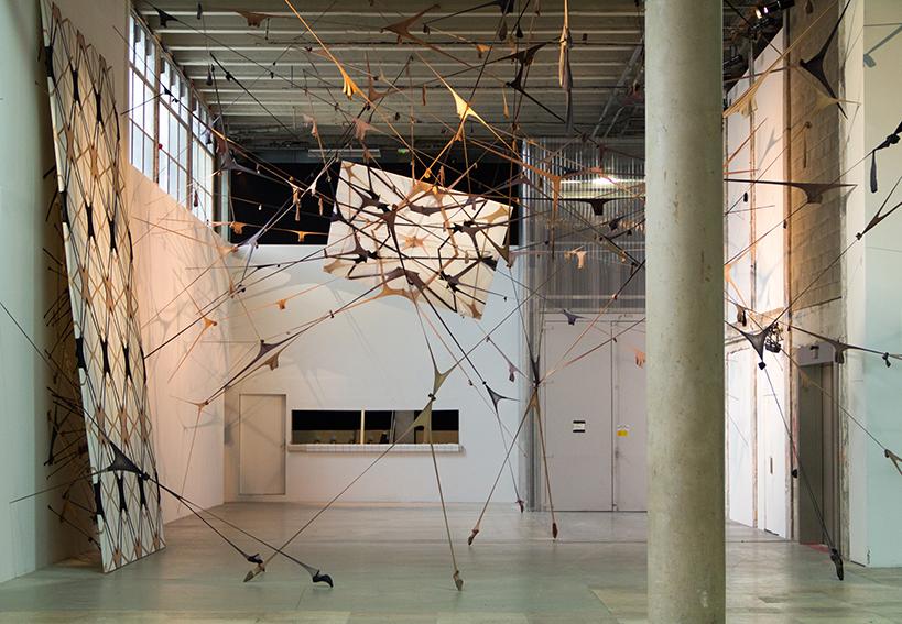 "Martin Soto Climent's exhibition ""Frenetic Gossamer"". Palais de Tokyo."