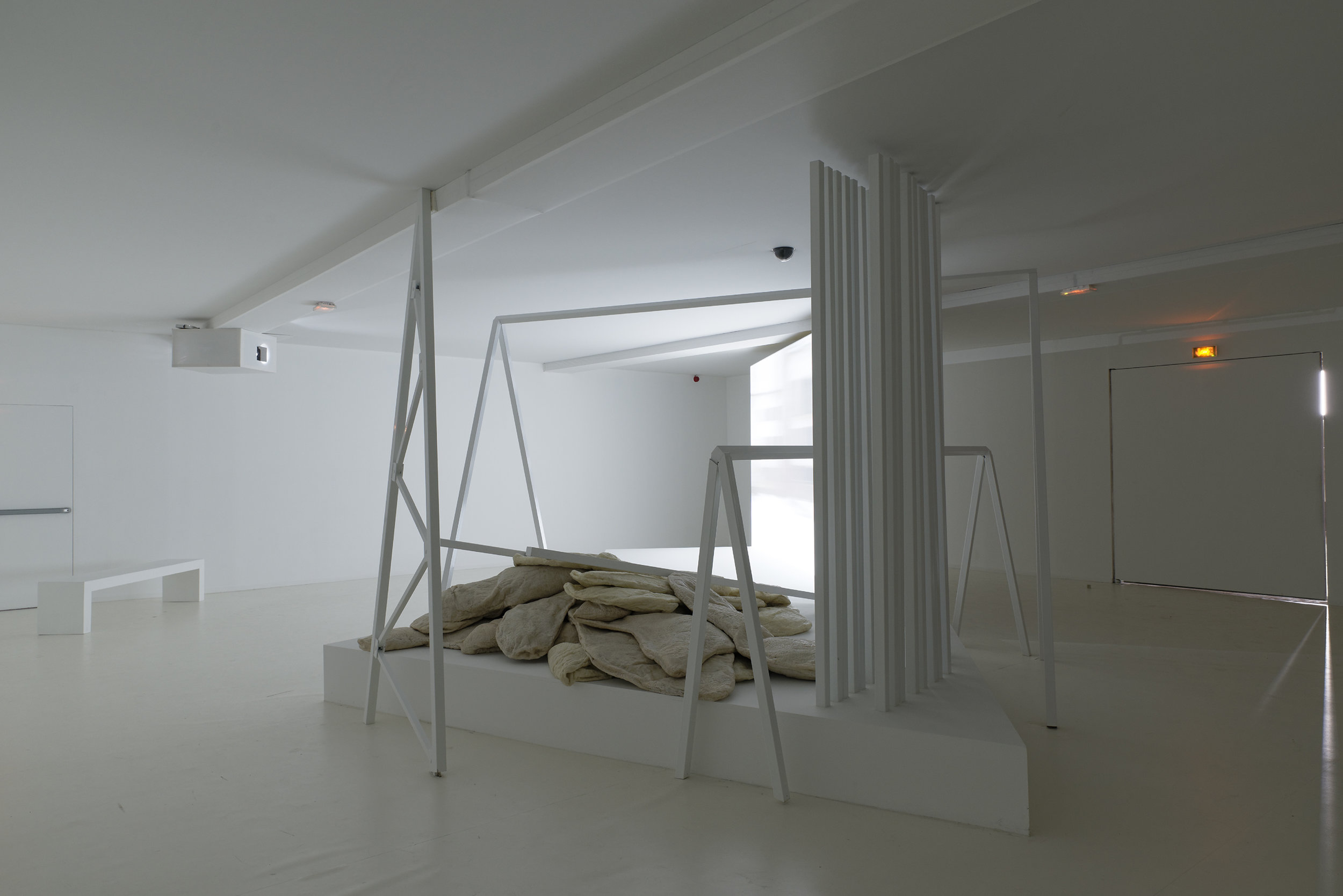 """Angelika Markul's exhibition """"Terre de départ"""". Palais de Tokyo."""