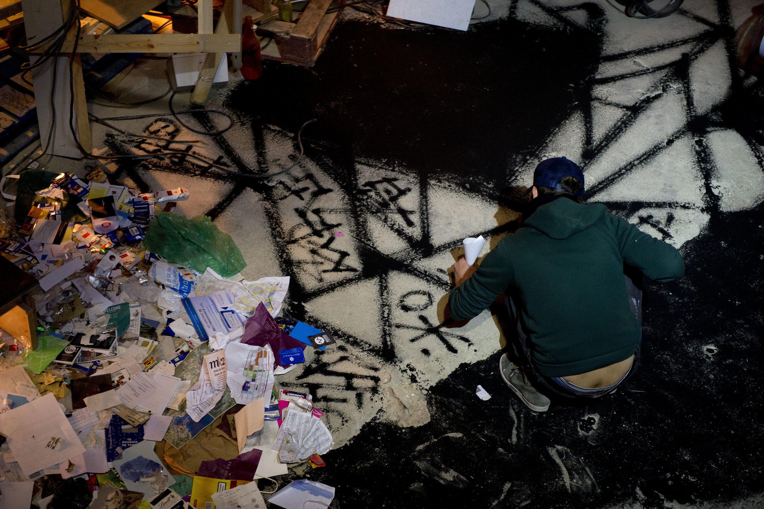 "Asim Waqif's exhibition ""Bordel Monstre"". Palais de Tokyo."
