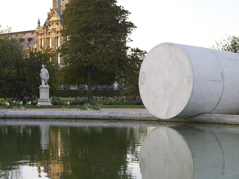 "Adrian Villar Rojas's exhibition ""Poems for Earthlings"". Tuileries Garden."