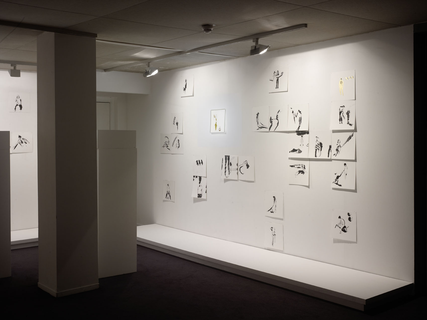 """Inci Eviner's exhibition """"Broken Manifestos"""". MAM, Paris"""