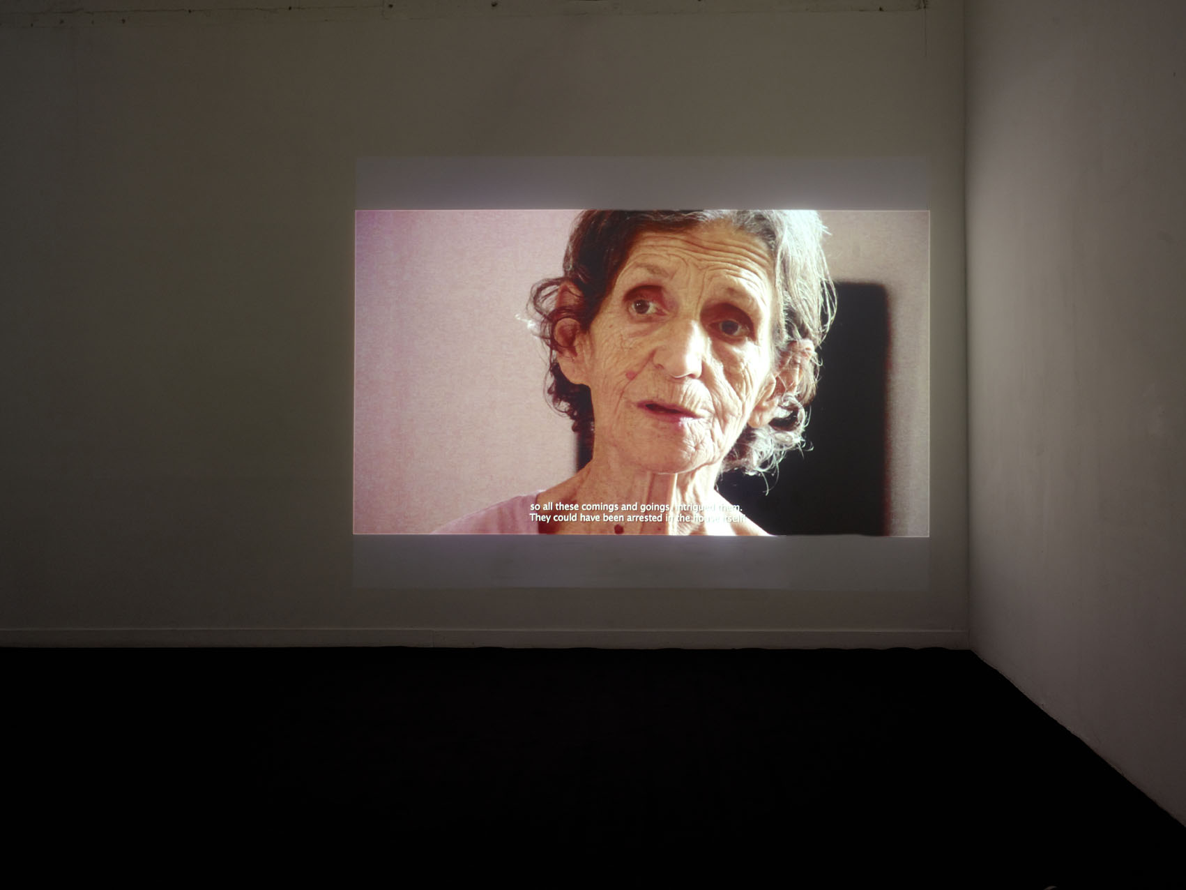 """Zineb Sedira's exhibition """"Gardiennes d'images"""". Palais de Tokyo."""