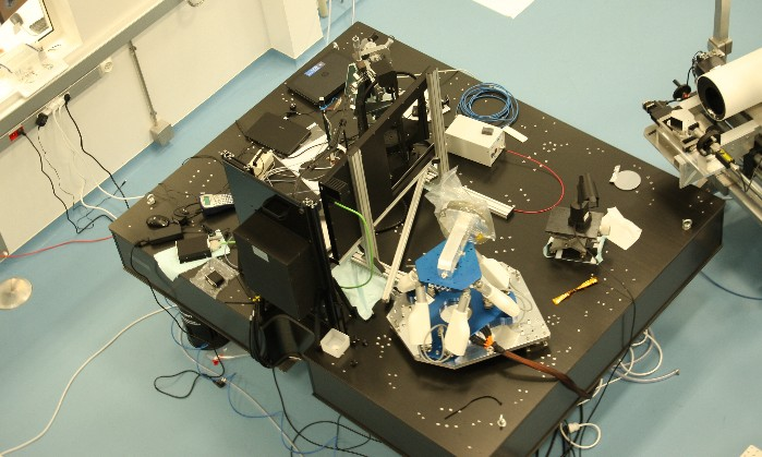 Bench for Spectrographes (by courtesy of LAM)