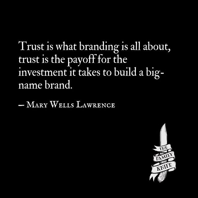 The payoff for investing in creating a brand is trust. Mary Wells Lawrence worked on creating the iconic brands for I ❤️ New York, Braniff Airlines, Avis, Alka-Seltzer, and countless more.