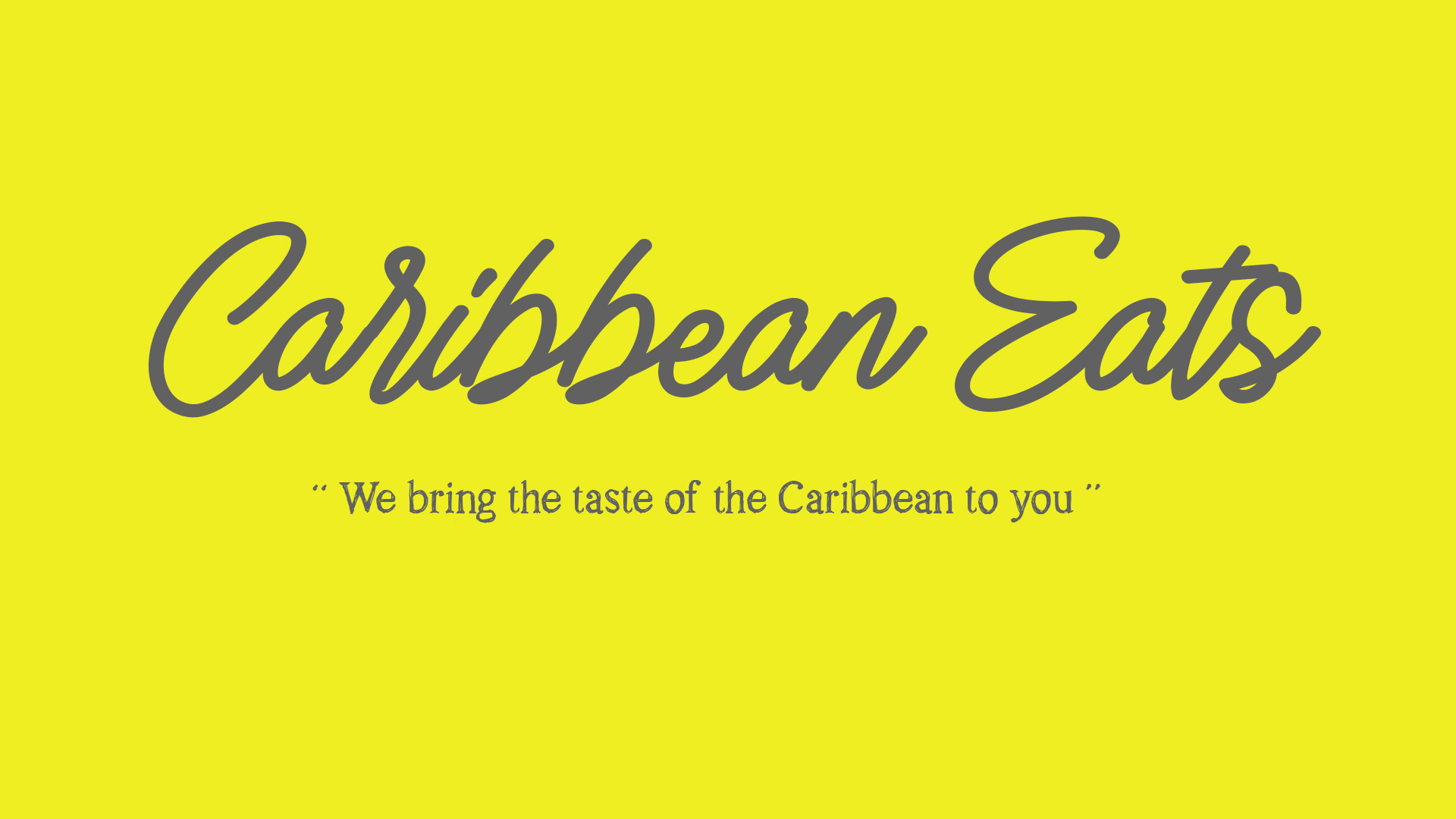 "Welcome to Caribbean Eats - ""We are a full service mobile concession & catering food business that offers authentic Caribbean meals that you have or would like to experience in the Caribbean. We assure you that all meals prepared are done with the cleanest, safest and the most authentic method. We promise the highest integrity of food service possible"""