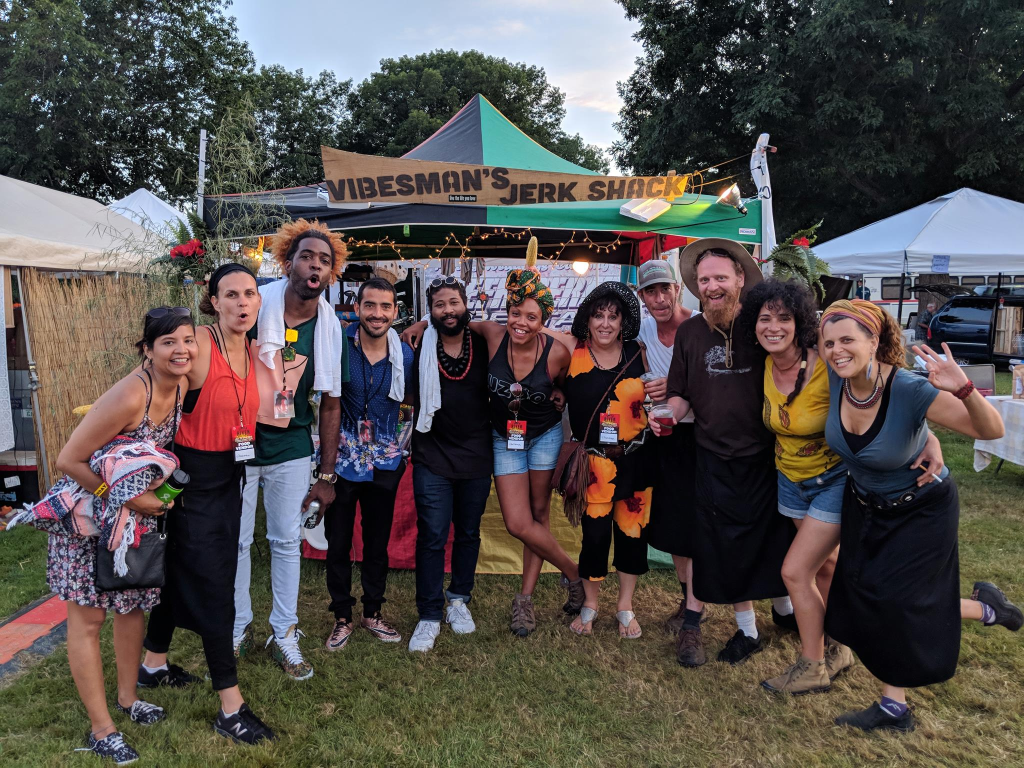 Vibesman's Jerk Shack - After running a Mexican Tequila bar & Catering Company in Australia for 10 years, Elijah Lagreze has returned to Western Mass working at the family's farm launching products and bringing you simple yet delicious food with an island twist. Come try us