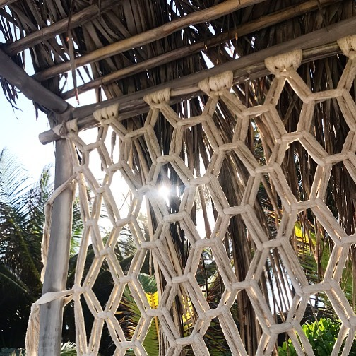 Macrame for days in Mexico