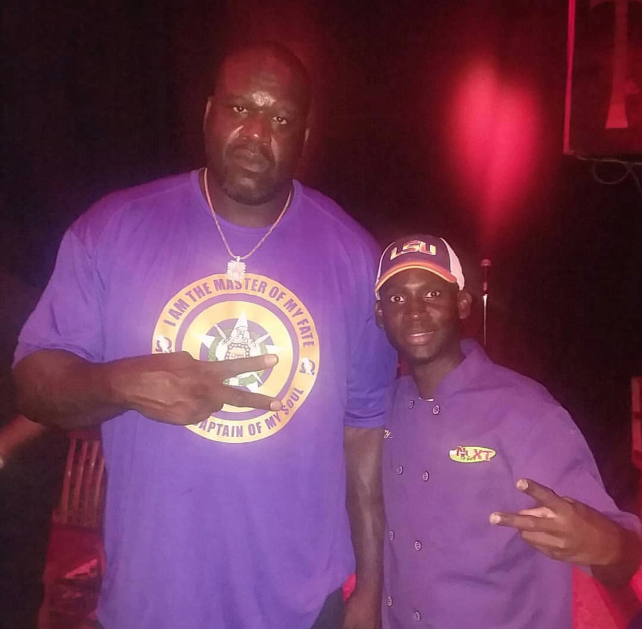 Basketball Legend Shaquille O'Neal