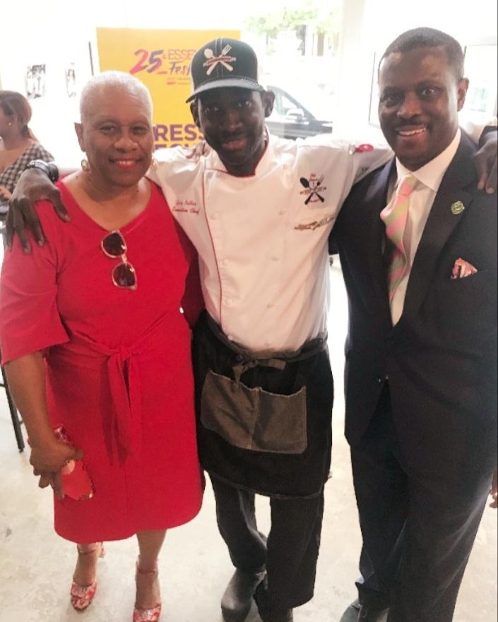 Mrs. Sybil w/MOTMC AND Quentin CEO of NOLABA