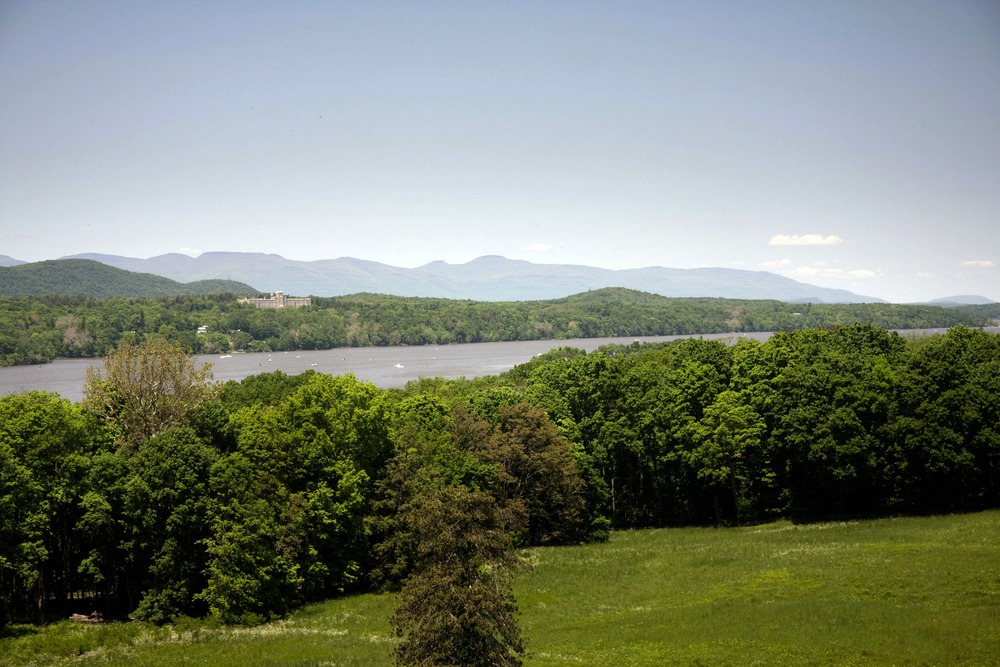 Hudson River from Vanderbilt Mansion National Historic Site