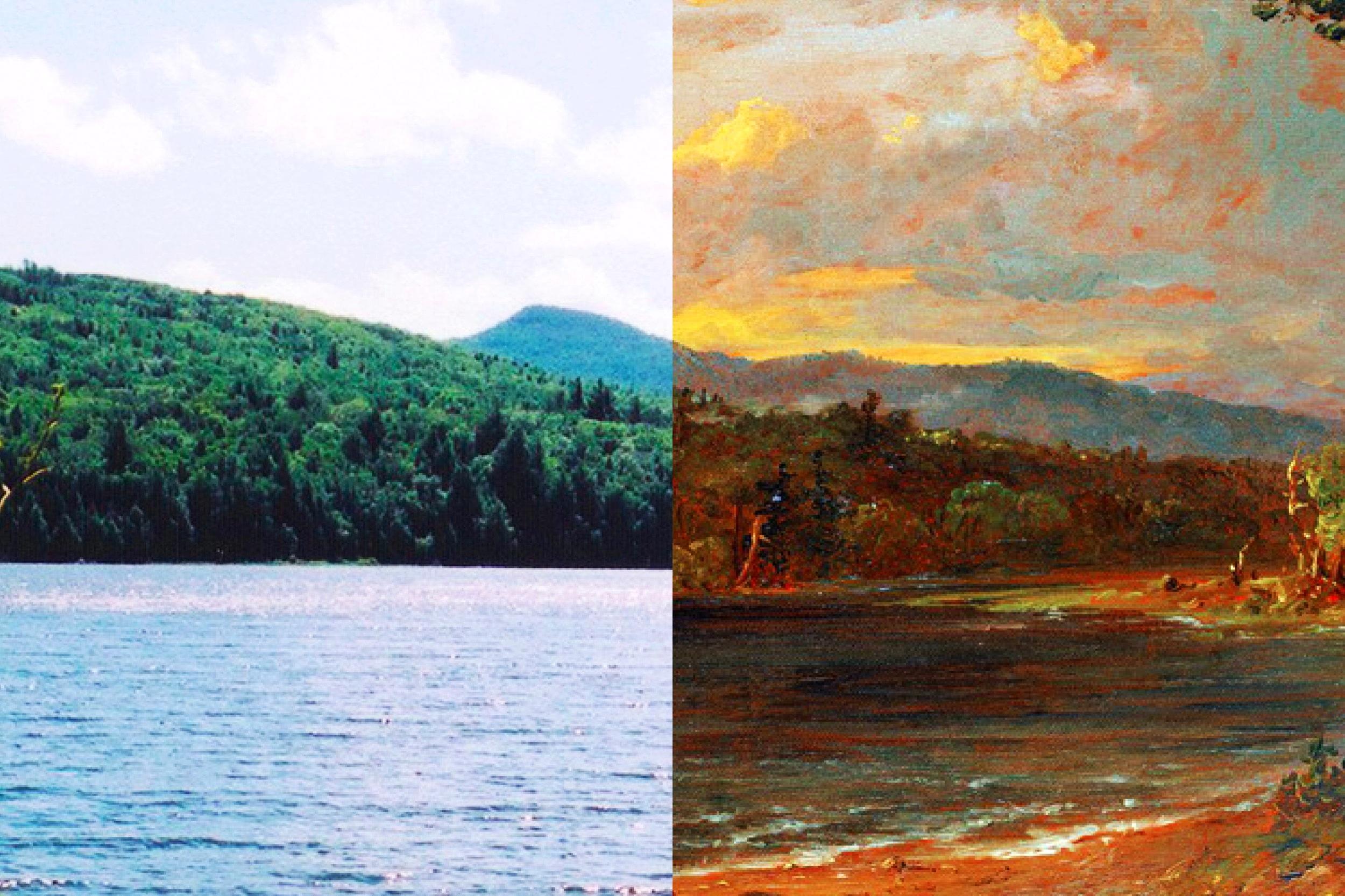 North-South Lake -
