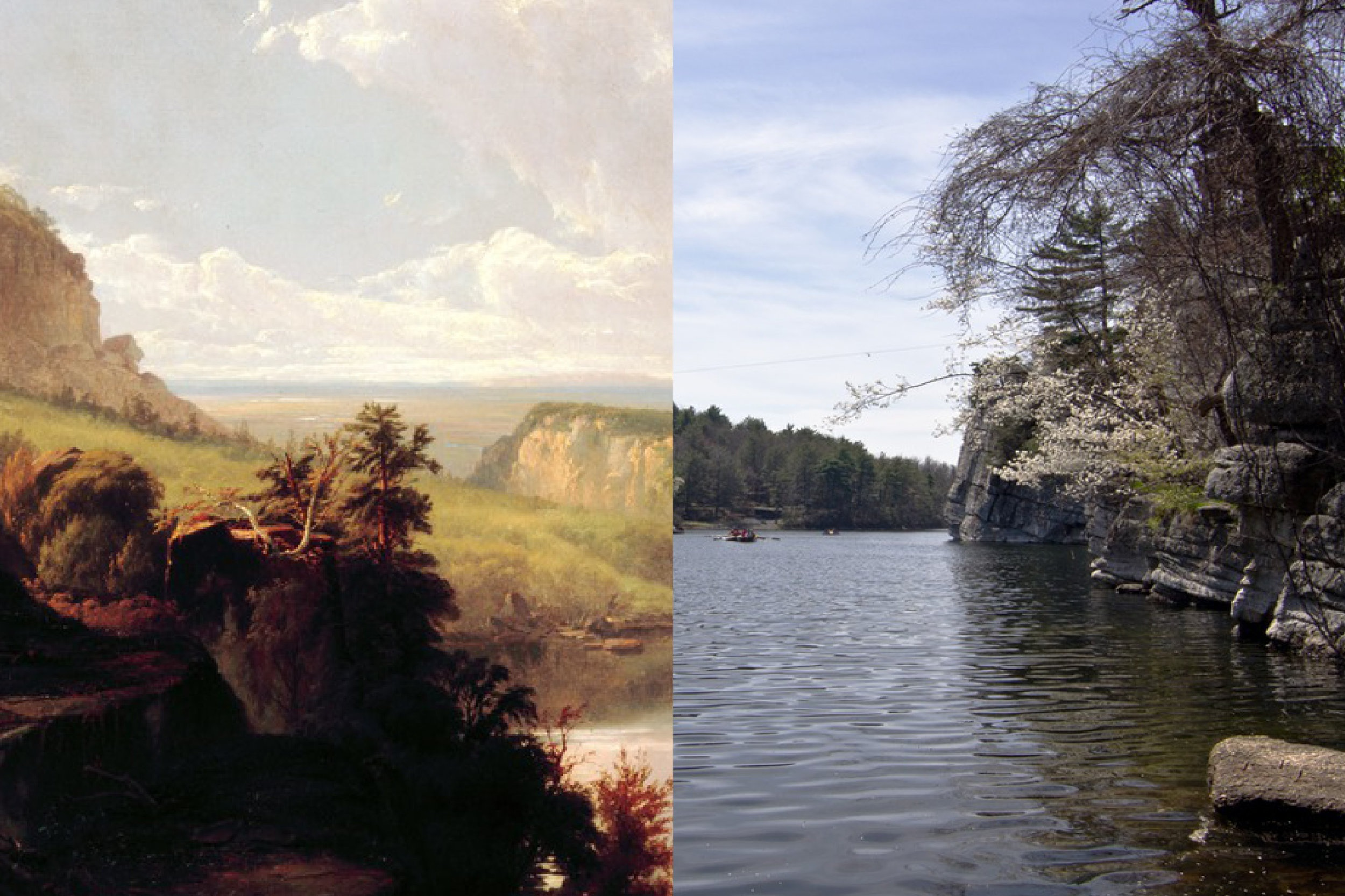 Mohonk Lake -