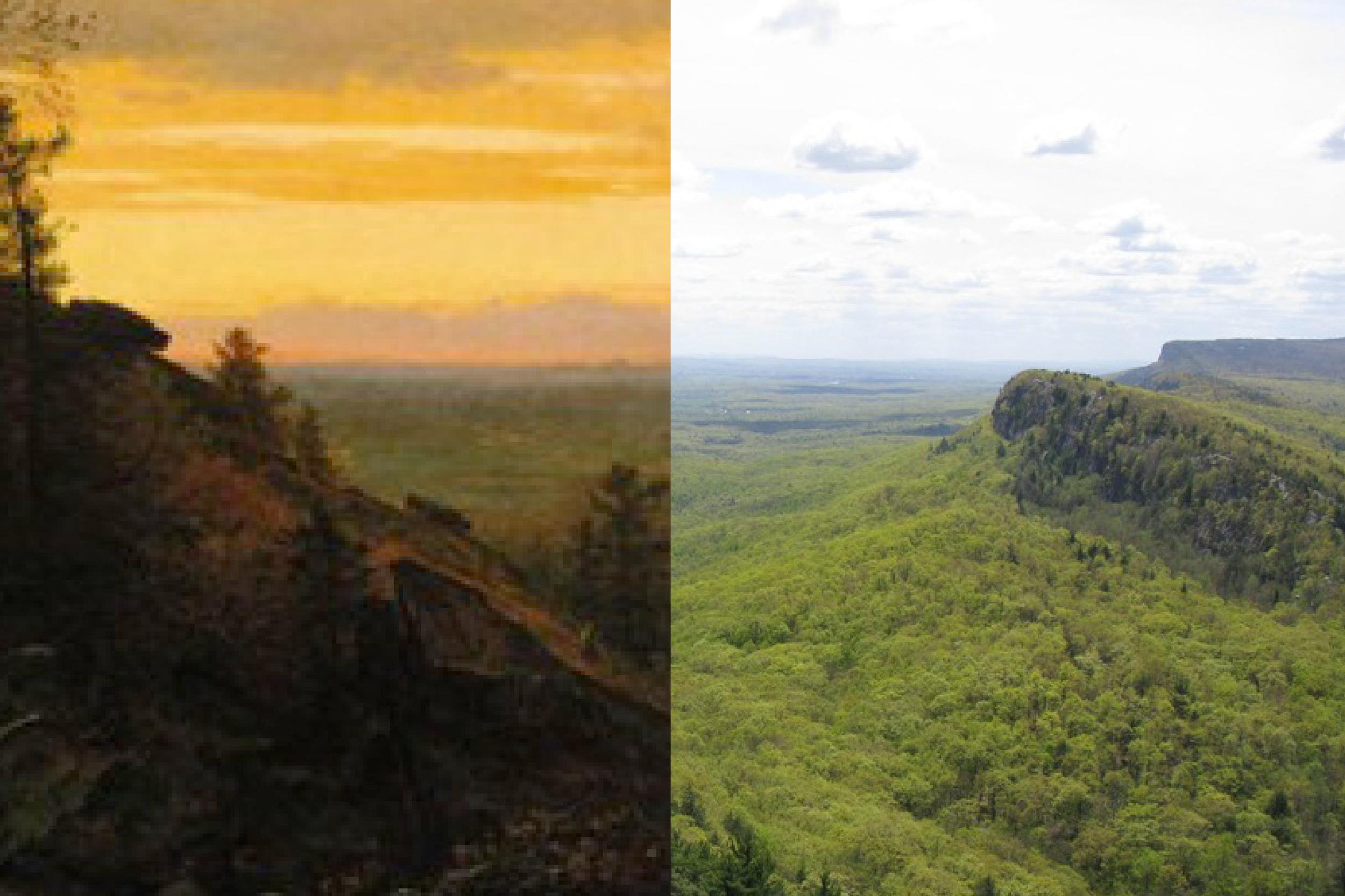 Eagle Cliff near Artist's Rock -