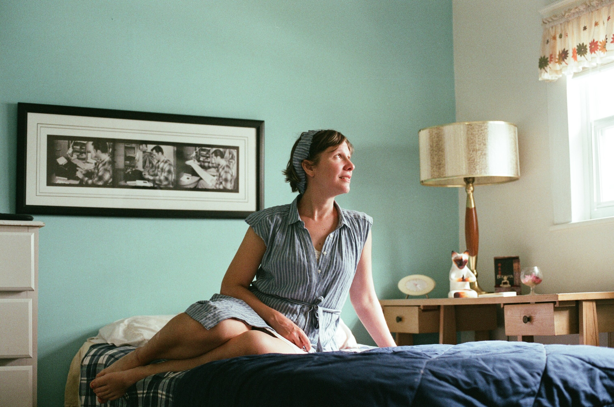 Writer-in-Residence Laura Lee Bahr at the Jack Kerouac House