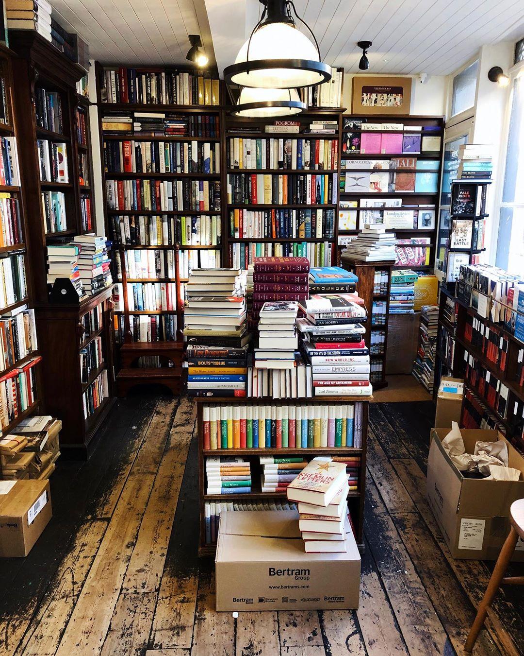 Above: John Sandoe Books
