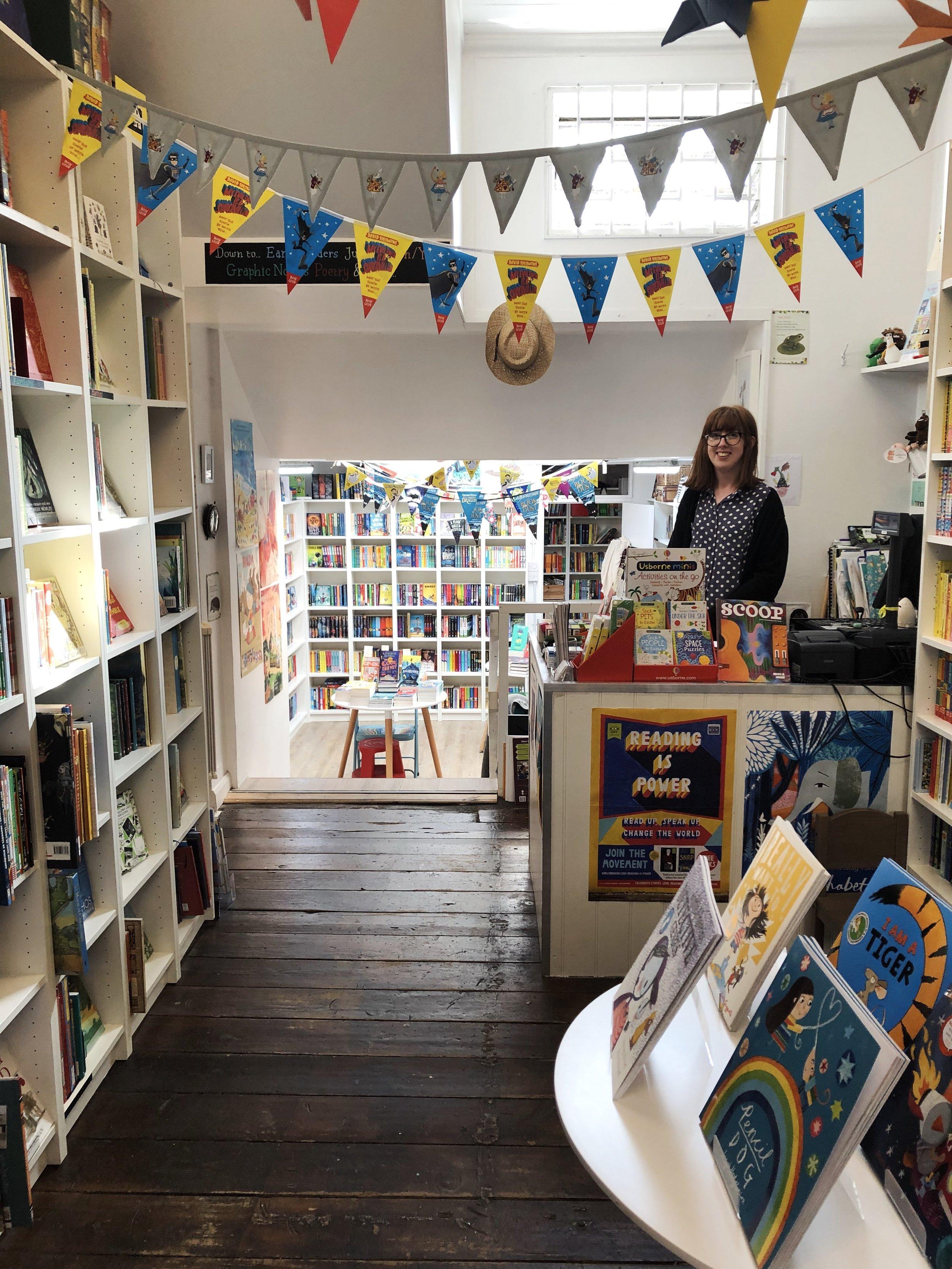 The Alligator's Mouth Bookshop, London